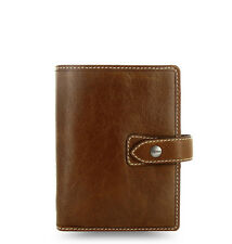 Filofax 'Malden' Ochre Pocket Size Organiser & Diary Soft Buffalo Leather 425842