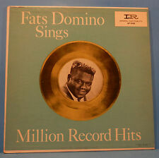 FATS DOMINO SINGS MILION RECORD HITS LP '60 MONO ORIGINAL GREAT COND! VG+/VG+!!