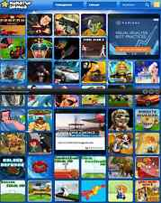 Ready to run arcade gaming website for sale-libre d'hébergement pour la vie