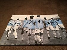 "Manchester City #MCFC Legends Canvas Print A1 (33.1""x23.4"") £32"