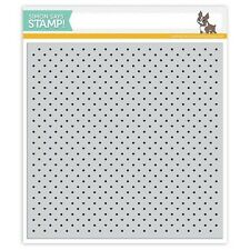 Simon Says Stamp Tiny Dots And Hearts Cling Background Stamp
