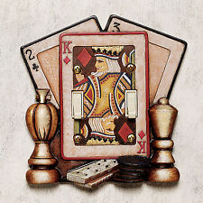 Game Rec Room Decor Poker Cards Light Switchplate Cover