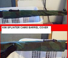 Mauser 98-K / barrel cover / splinter camo / reenactment / WW2 german / sniper