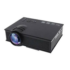 UC40+ 2000 Lumens HD 1080P LED Projector 3D HDMI Mini Home Theater TV USB VGA