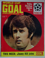 GOAL~VINTAGE~FOOTBALL~MAGAZINE~JUNE~6th~1970~ISSUE~NUMBER~No~#~NINETY~SIX~96