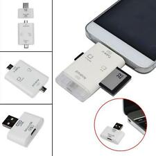 New Portable 2 in 1 USB 3.1 Type C USB-C TF SD MS Card Reader For Macbook phone