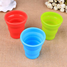 Collapsible Travel Coffee Tea Mug Silicone Camping Water CUP random