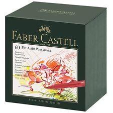 Faber Castell Pitt Artist Pen 167150 in 60er-Atelierbox