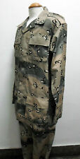 Middle East Saudi Arabia or Afghanistan Camo Camouflage Uniform Set-Rare