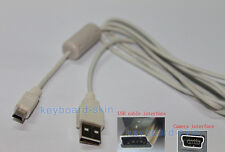 USB Cable/Cord for canon PowerShot D10 G10 G3 G5 G6 G7