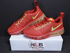 2014 NIKE Air Max Motion Terra Red/Volt/Gym Red Tm Red Running/Training Size 7.5