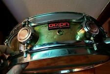 "Dixon Drums 4"" x 13"" 8 Lug. Gold Finish Snare Drum w/Pearl"