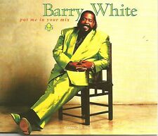 BARRY WHITE Put you in EDIT / I wanna do good to ya REMIX 3TRX CD single SEALED