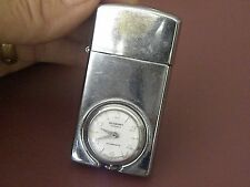 Vintage Mastercraft Lighter Swiss Made Watch Antimagnetic Crome-Parts or Repair