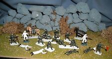 Vintage Airfix 1/72 HO Scale German Mountain Troops Painted/Detailed (g)