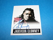 2014 Leaf JADEVEON CLOWNEY Rookie Autograph 1948 Mini RC TEXANS South Carolina