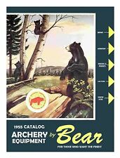 1955 Bear Archery Equipment Catalog  - Reproduction