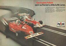 X9640 POLISTIL - Corri su Ferrari e sfida la Mc Laren - Pubblicità 1977 - Adv.