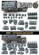1/72 scale Vo3d1 WW2 German Jerry Can Set (37 Pieces)