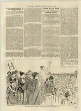 1892 Labour Day London Demonstration Hyde Park Monster Meeting