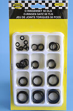 O Rings Assortment Sealing Set rubber seal Silicone Oil Petrol