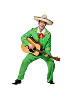 Adult Mexican Tortilla Guy Outfit Fancy Dress Costume Mexico Mens Gents Male