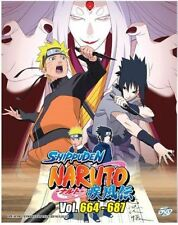 Naruto Shippuden (Box 23) Vol. 664 - 687 Box Set DVD with English Subtitle