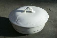Beautiful American International Royal China White Ironstone Soap Box 1860-1895