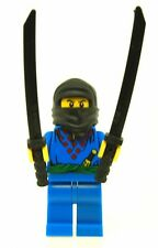LEGO Blue Ninja Minifigure with 2 Samurai Swords NEW