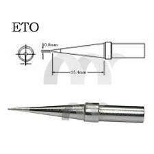 FOR Weller Soldering Station Solder Iron Tip ETO 0.8MM ET0 0.8B NEW