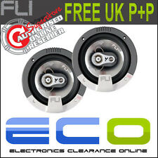 Fli FI6 6.5 inch 17cm 180 Watt 3 Way Car Door Speakers