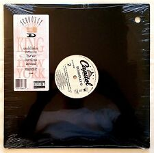 1990 - SCHOOLLY D - KING OF NEW YORK - CAPITOL RECORDS SEALED ORIGINAL PRESSING