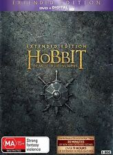 The Hobbit The Battle of The Five Armies Extended Edition DVD R4