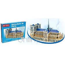 Puzzle 3D de Notre-Dame Rompecabezas Fácil Montaje a1495
