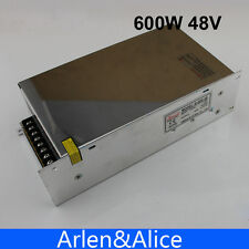 600W 48V 12.5A  220V Single Output Switching power supply AC to DC SMPS