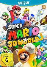 Super Mario 3d World (Nintendo Wii U, 2013, DVD-box)