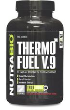 NutraBio ThermoFuel V9 Men's Fat Burner Thermogenic Weight Loss - 180 vcaps