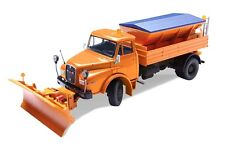 Conrad MAN HAK 15.200 Truck w/Snow Plow & Salt Spreader 1/50 Die-cast New MIB