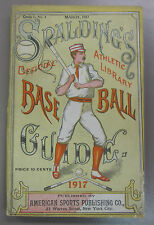 1917 Spalding's Official Baseball Guide