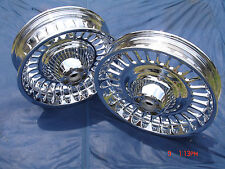 Harley Chrome 28 Spoke Knuckle Wheels 09-15 Road Glide FLTR Exchange Only
