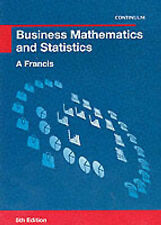 Business Mathematics and Statistics-ExLibrary