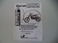 advertising Pubblicità 1979 BLOW-UP e MOTO APRILIA RC 125