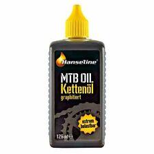 Hanseline bicicleta kettenöl MTB oil goteo-botella 125ml (Euro 68,00/l incl. IVA)