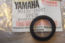 YAMAHA TY175  TY250  DT250  DT400  GENUINE  OIL TANK CAP GASKET - # 90430-18067