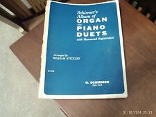 arr Wm Stickles: Schirmer's Album of organ - piano duets (Schirmer)