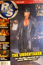 Power Wrestling 1/2008 WWE WWF WCW + 4 Posters (Rey, Orton, Booker T, Steiner)