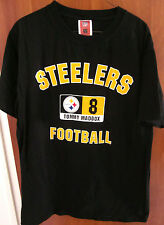 PITTSBURGH STEELERS Tommy Maddox med T shirt football tee #8 quarterback 2002