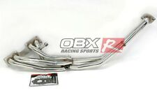 OBX Racing Sports SS Exhaust Manifold Header for 89-90 Nissan 240SX 2.4L S13 NEW