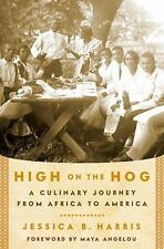 High on the Hog: A Culinary Journey from Africa to America-ExLibrary