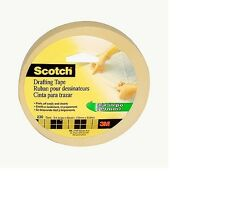 New scotch drafting tape 3M 230 Drafting Tape (3/4 inch wide) 60 Yards 19mm X 54
